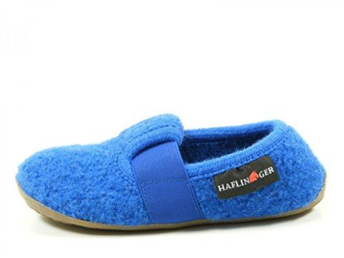 Haflinger 481015 Everest Jonas chaussons d'intérieur mixte enfant Blau