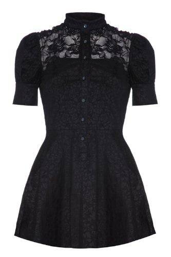 Voodoo Vixen Damen Kleid Gr. Small, Schwarz