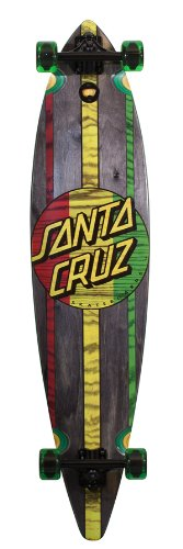 Santa Cruz Longboard Mahaka Rasta, 9.9 x 43.5 Zoll, SANLOBMAHRAS