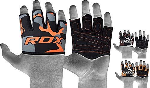 RDX Gym Gewichtheben Griffe Krafttraining Griffpolster Griffpads Klimmzüge, Fitness, Bodybuilding & Krafttraining, Trainings Pads (MEHRWEG) -