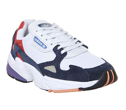 online retailer ebc65 1178f adidas Falcon W, Chaussures de Fitness Femme, Multicolore Balcri Maruni  000, 38
