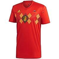 Bélgica mundial de fútbol camiseta de la temporada 2018Inc libre Rusia 2018torneo transferencia, hombre, rojo
