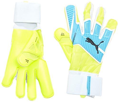 Puma Torwarthandschuhe Evospeed 1.4 Safety Yellow/Atomic Blue/Black, 8.5 -