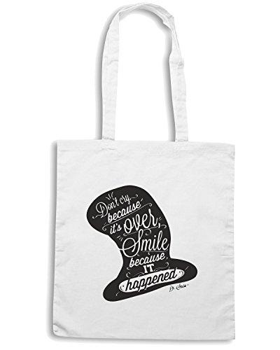 T-Shirtshock - Borsa Shopping CIT0066 Dr.Seuss Bianco