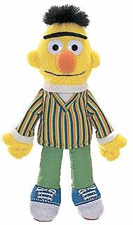 Sesame Street-Bert-Finger-Marionette