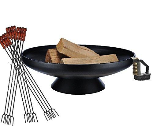 Barbecue a sfera grande braciere cm di diametro con standfestem