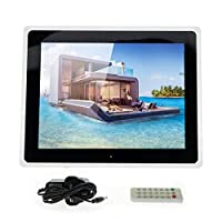 Crony 15 Inch TFT LCD With High Resolution Digital WiFi Cloud Photo Frame, For Iphone & Android app -Black