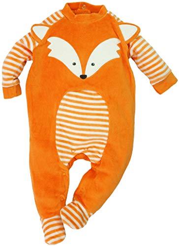 Lily & Jack - Baby Jungen Mädchen Strampler Schlafanzug aus Nicki Fuchs Gr. 56/62 (0/3M)