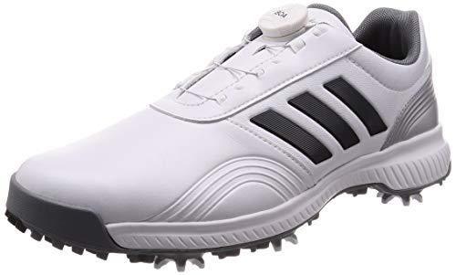 adidas CP Traxion Boa, Chaussures de Golf Homme, Blanc (Blanco/Gris Bb7906), 41 1/3 EU