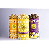 The Crunch Box Chocolate, Caramel & Cheese Popcorn (Pack of 3) 220 GMS