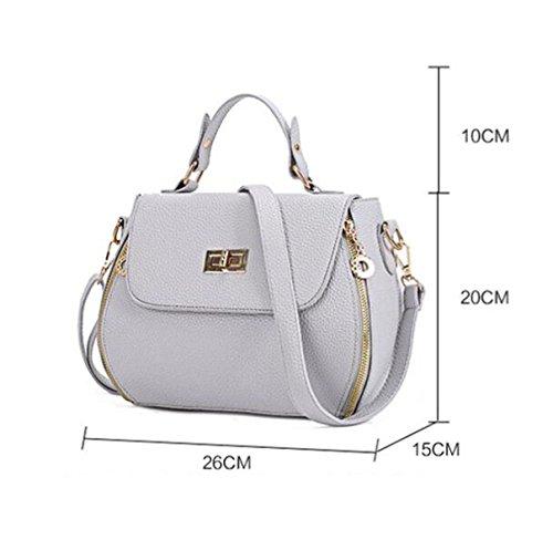 Frauen Schulter Messenger Bag Mini RoseRed