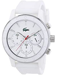 Lacoste Damen-Armbanduhr Analog Quarz Silikon 2000800