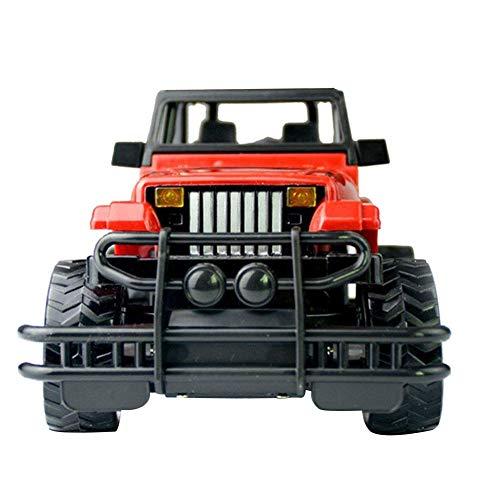 Easy-topbuy Ferngesteuertes Geländewagen, Wrangler Hummer Modell Ferngesteuertes Auto, Spielzeugauto für Kinder, Kinder, Erwachsene, Jungen und Mädchen