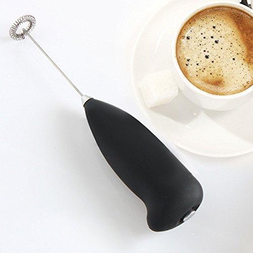 Elektrisch geschlagene Maschine HKFV Küche Elektrische Hand Schneebesen Mixer Kaffee Milch Ei...