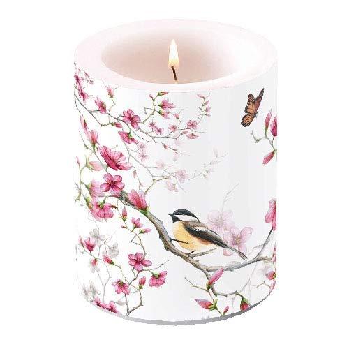 ze bird & blossom H12cm, D10cm ()