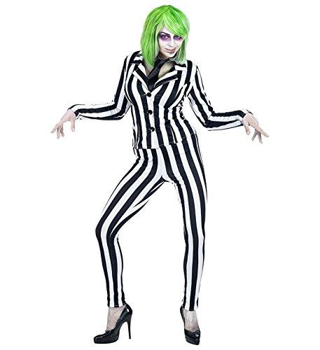 Panelize Beetlejuice Ghost Geist Halloweenkostüm Lottergeist (S)