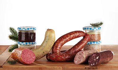 Thüringer Probier-Paket ★ Thüringer Wurst Spezialitäten ★ ca. 2,2kg ★ Fleischerei Eismann