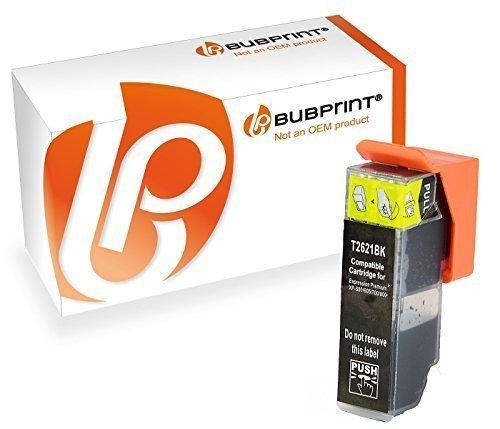one kompatibel für Epson 26XL T2621 für Expression Premium XP-510 XP-520 XP-610 XP-620 XP-700 XP-720 XP-800 XP-810 XP-820 Schwarz ()