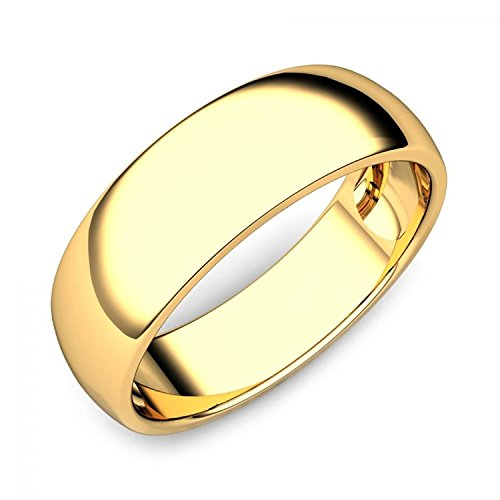Briva 22k Gold Plated Plain Ring (20)