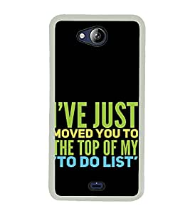 ifasho Designer Back Case Cover for Micromax Canvas Play Q355 (Noun Association With An Organization Entertainment Agencies)