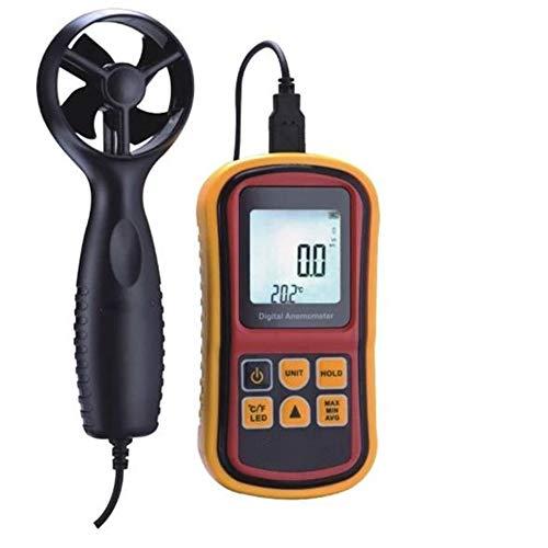 Anemómetro De Mano Digital, Sensor De Velocidad Del Viento - Con Registrador De Datos Y El Sensor De...
