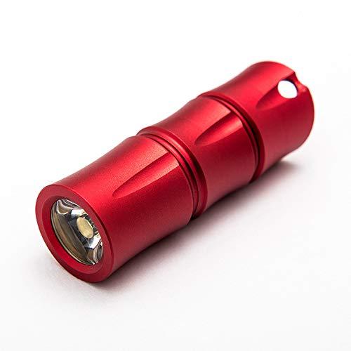 ALXDR Mini-Torche Tactique De Poche D'alliage D'aluminium Rechargeable D'usb De Lampe-Torche De LED avec 120 Lumens élevés pour Camper, Extérieur, d'urgence, Lampes-Torches Journalières