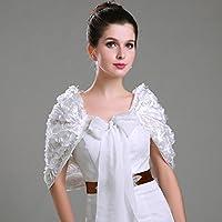 CarShi Nuziale Abito Da Sposa Di Wrap Rosa Papillon . White