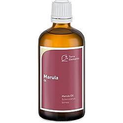 Terra Elements Marula Öl 100 ml I Feuchtigkeitsspendend I 100% rein I Vegan I Kaltgepresst