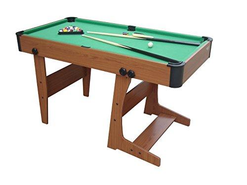 Gamesson Eton L Foot Pooltisch, mit Zubehör, zusammenklappbar, grün, Größe L
