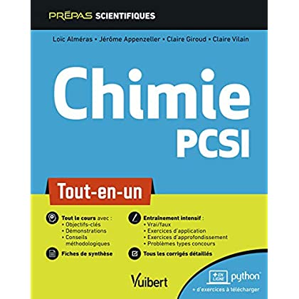 Chimie PCSI - Tout-en-un