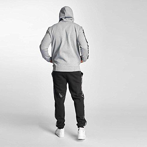 Thug Life Uomo Maglieria / Hoodies con zip Wired Life Grigio