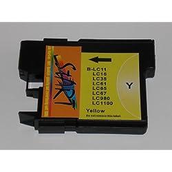 Start - Ersatz Patrone kompatibel zu LC-985 Y, Yellow für Brother