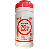 PDI Sani-Cloth 70 Alcohol Wipes in Canister x 200