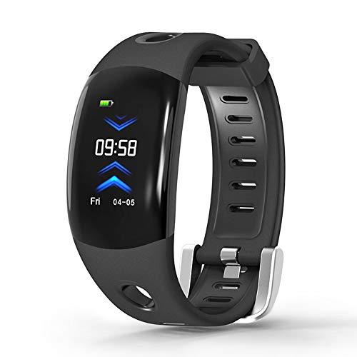 OASICS Fitness Armband, Smartwatch für Damen Herren , DM11 Überwachung des Blutdrucks und der Herzfrequenz Anruferinnerung Sport Smart Watch für iOS Android (Schwarz)
