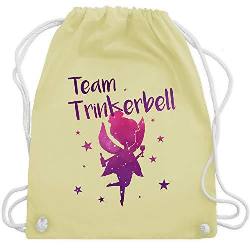 bschied - Team Trinkerbell - Unisize - Pastell Gelb - WM110 - Turnbeutel & Gym Bag ()