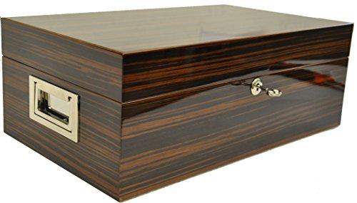 Humidor für 100 Zigarren - Klavierlack