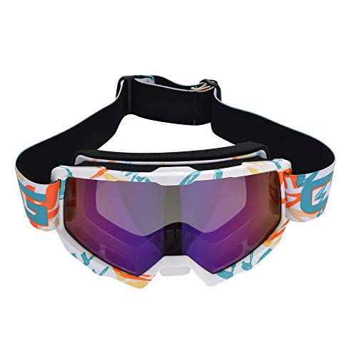 zhenxin Goggle Swimming Goggles Motocross Goggles Occhiali da Ciclismo Offroad Casco Ski Sport gafas per Moto Dirt Bike Racing Go