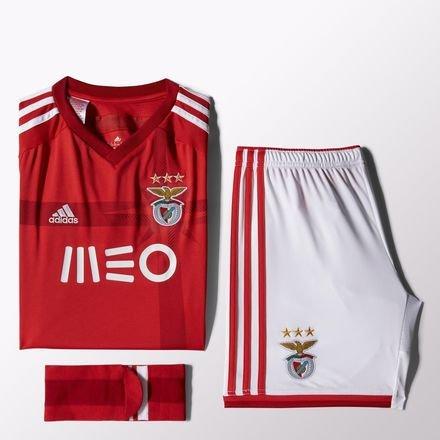Benfica Lissabon Trikot Set Home Adidas 2014/15 Kindergröße 140 (Benfica Trikot Fußball)