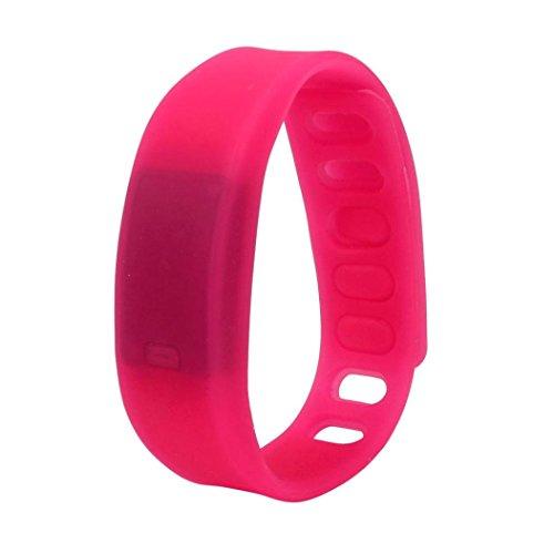 FAMILIZO Reloj de goma LED Fecha Deportes reloj digital pulsera