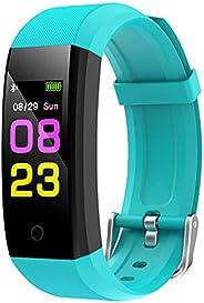 GeeRic Orologio Fitness Tracker,Smartwatch Tracker Donna Uomo con Saturimetro Pressione Sanguigna IP67 Cardiof