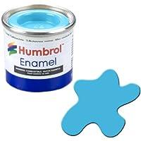 Humbrol AA0518 14ml No. 1 Tinlet Enamel Paint 47 (Sea Blue Gloss)