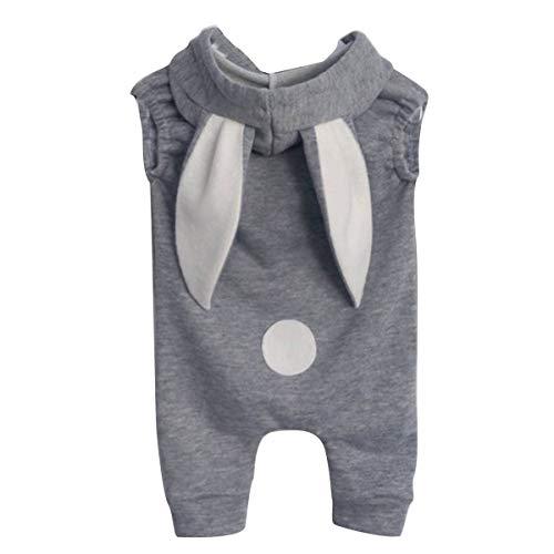 669b47ba38111c Neugeborene Mädchen Jungen lange Kaninchen Ohr Cartoon Kawaii Strampler  Overall Baby Outfits (Size : 70
