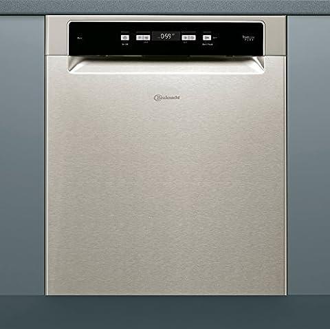 Bauknecht BUC 3C26 PF X A Unterbau-Geschirrspüler, A++, 60 cm, 265 kWh/Jahr, 14 MGD, Power-Clean, Startzeitvorwahl, Besteckschubalde
