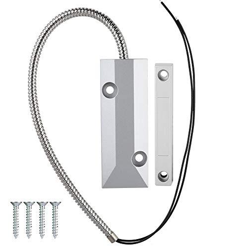 Magnetische verdrahtete Sensor Detektor für Garage/Lager/Tür Fabrik Alarm Sicherheit Tür Fenster Sensing Magnetschalter (Garage Tür-alarm-sensor)
