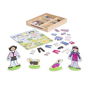 Melissa & Doug- Classic Toys - Magnetic Dress-Up Sets (Melissa and Doug 19314)