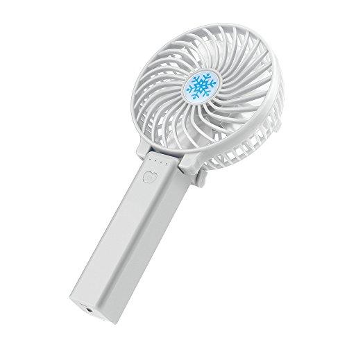 USB Ventilator Leise Mini Handventilator Ventilatoren Lüfter mit Batterie Farbe