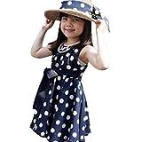 Oyedens bambine principessa abiti eleganti bambina partito compleanno  comunione swing vestiti da cerimonia figli bambini vestiti 1539354a6ff