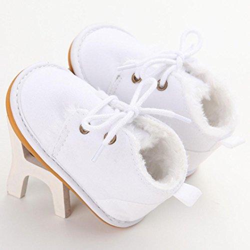Gummisohle mädchen Farben Weiß Krabbelschuhe Jungen Babyschuhe omiky® Lauflernschuhe Lauflernschuhe Verschiedenen In Baby zUcPZvtW