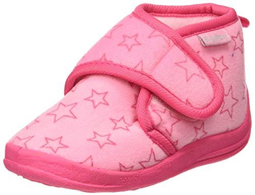 Playshoes Hausschuh Pastell, Ciabatte Unisex - Bambini, Pink (Rosa 14), 20/21 EU