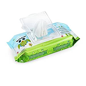 Mamaearth India's First Organic Bamboo Based Baby Wipes (Pack of 2)